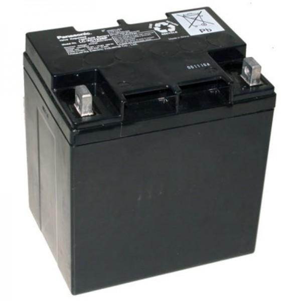 Panasonic LC-XC1228P batterij 12 volt 28 Ah cyclus, cyclusbestendige versie