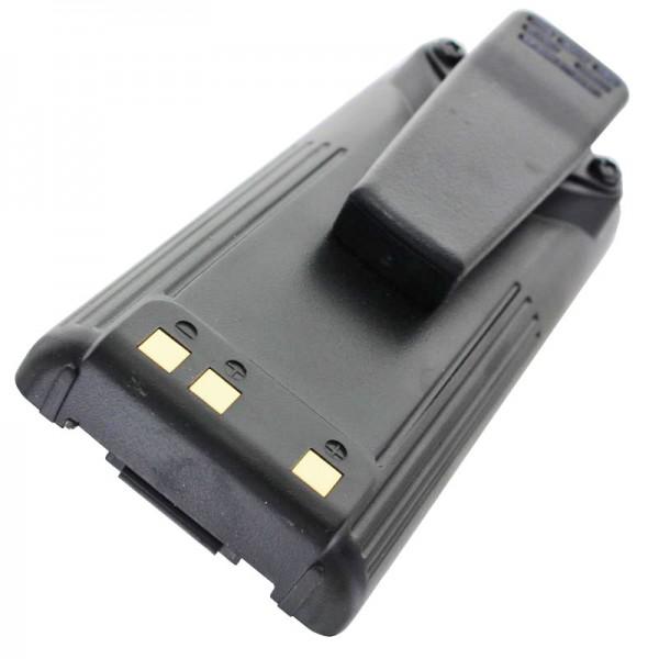 Batterij geschikt voor de ICOM IC-F3GS batterij, IC-F4GS, BP-209, BP-210