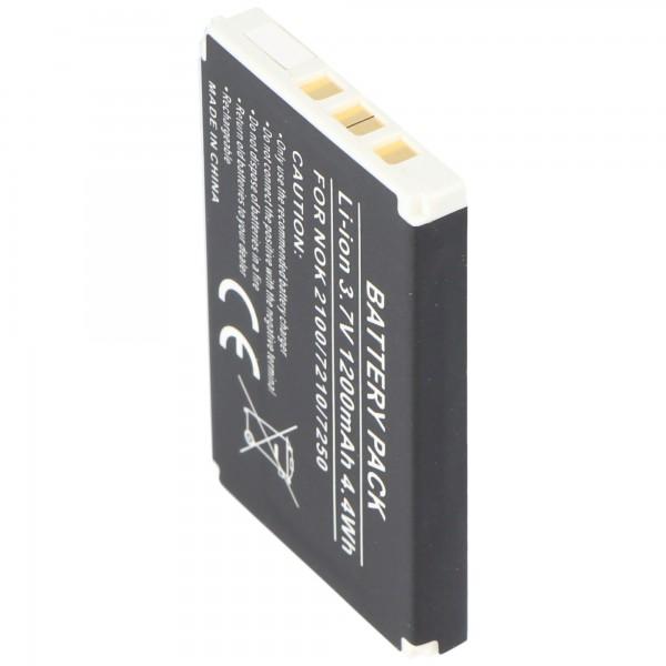AccuCell-batterij geschikt voor Nokia 3200, BLD-3, 900mAh