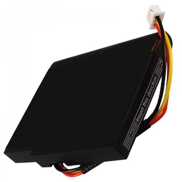 AccuCell-batterij geschikt voor TOMTOM Live 1535-batterij, VIA 135, P11P17-14-S01