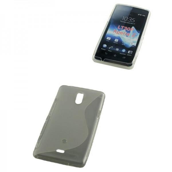 TPU-hoesje compatibel met Sony Xperia Z S-Curve transparant