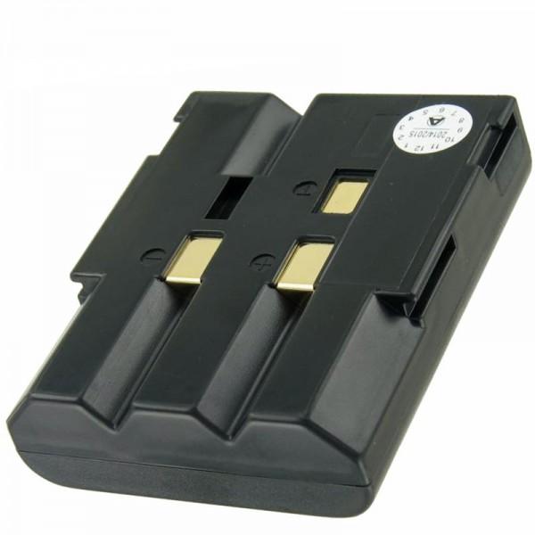 AccuCell-batterij geschikt voor Sharp BT-H11-batterij met 4000 mAh
