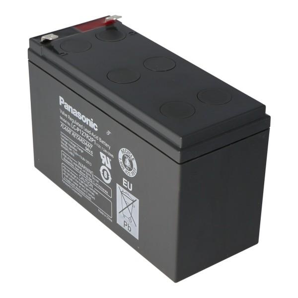 Panasonic LC-P127R2P1 PB-batterij 12 volt 7.2Ah VDS G193046
