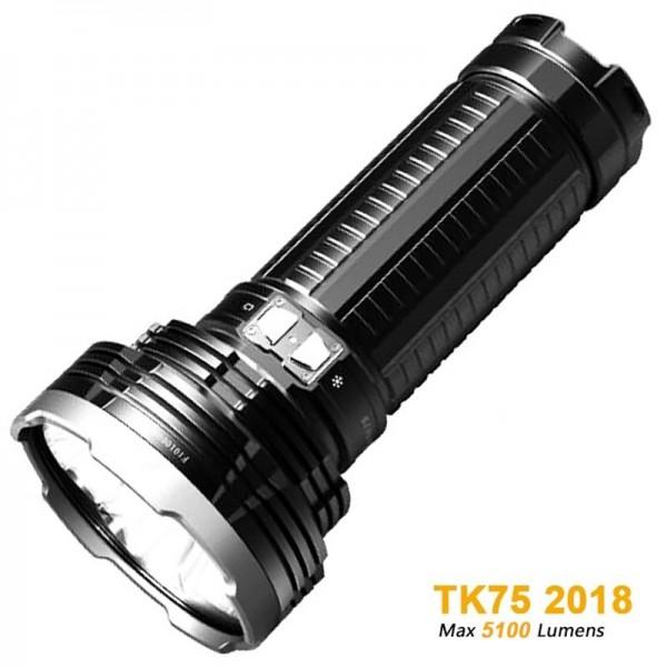 Fenix TK75 (2015) Cree XM-L2 U2 LED-zaklamp met een output van maximaal 4000 lumen