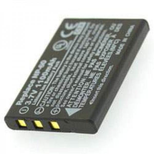 AccuCell-batterij geschikt voor batterij Somikon DV-920.HD-batterij