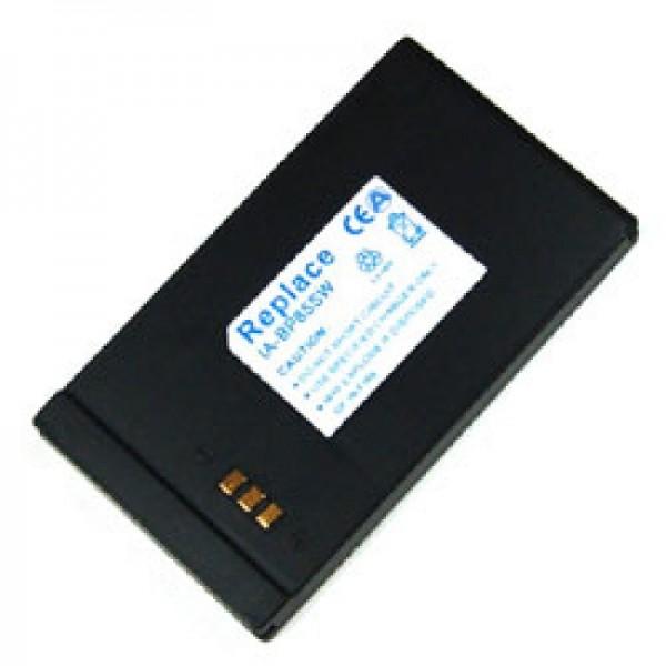 Batterij geschikt voor Samsung VP-DX10, 850mAh