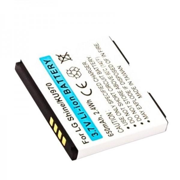 AccuCell-batterij geschikt voor LG KF750, KF755, LGIP-470A, SPPL00857