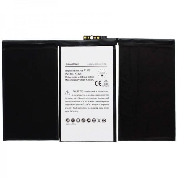 Batterij geschikt voor de Apple iPad 2 batterij 616-0561, A1316, A1376, A1395, A1396, A1397