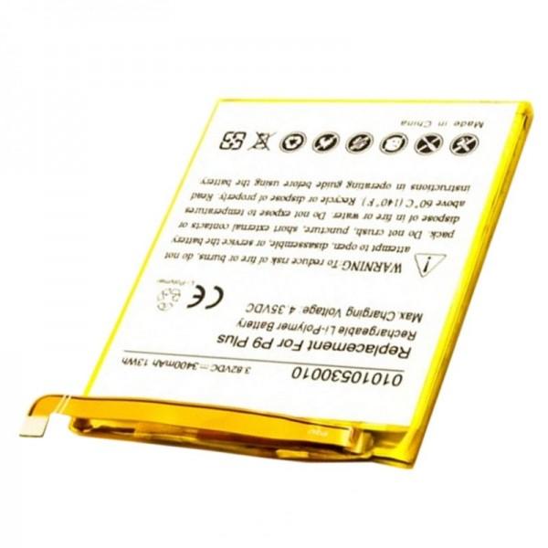 Accu geschikt voor de Huawei Ascend P9 Plus accu HB376883ECW