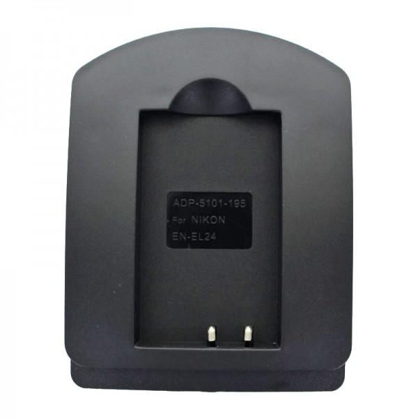 Laadstation voor Nikon EN-EL24 batterij