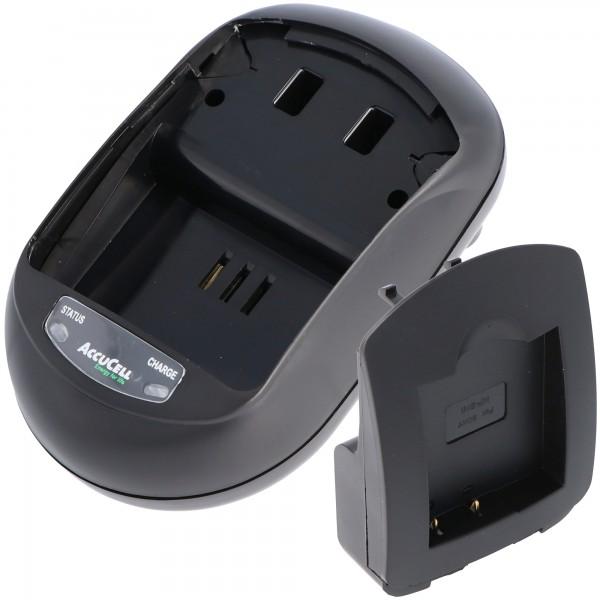 AccuCell-lader geschikt voor Casio NP-120-batterij, EX-S200-batterij