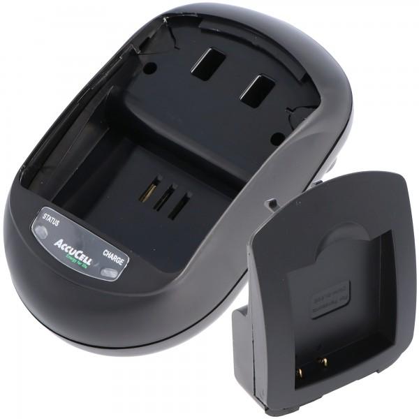Snellader geschikt voor Panasonic DMW-BLE9, DMW-BLE9E, DMW-BLE9GK, DMW-BLE9PP, DMW-BLG10, DMW-BLG10E, BP-DC15