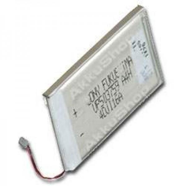 AccuCell-batterij geschikt voor Sony Clie PEG-N610, 1100 mAh