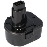 Batterij geschikt voor Dewalt, ELU, Berner-gereedschap, 12V NiMH 2.0Ah