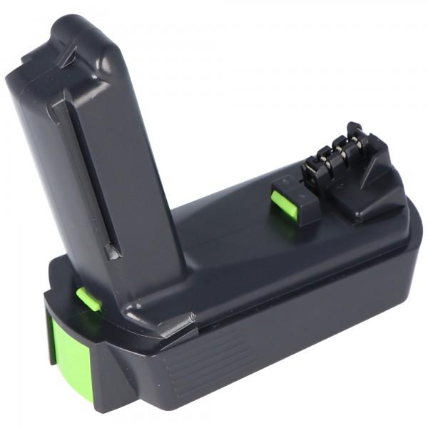 Accu-imitatie geschikt voor Festool BP-XS batterij 1,5 Ah nr. 498616 voor CXS accuboormachine / -driver