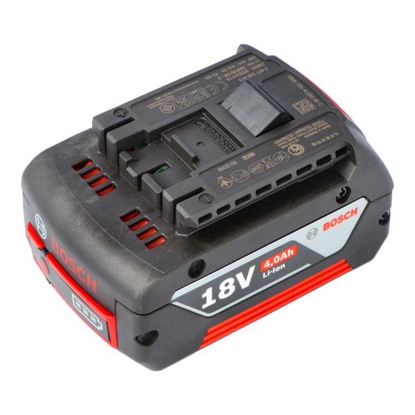 Originele Bosch GSR 18 V-LI batterij 2607336815 met 18 volt en 4000 mAh