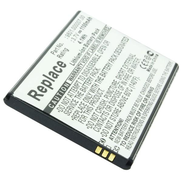 AccuCell-batterij geschikt voor de Blaupunkt America-batterij 9801.000007.00
