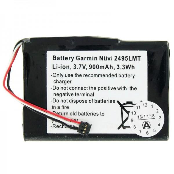 AccuCell-batterij geschikt voor de Garmin Nuvi 2405-batterij 361-00035-03