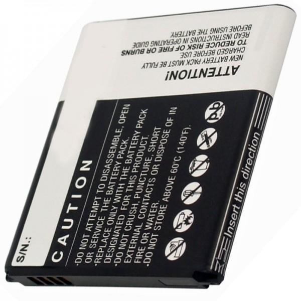 AT&T GT-I8730 vervangende batterij van AccuCell