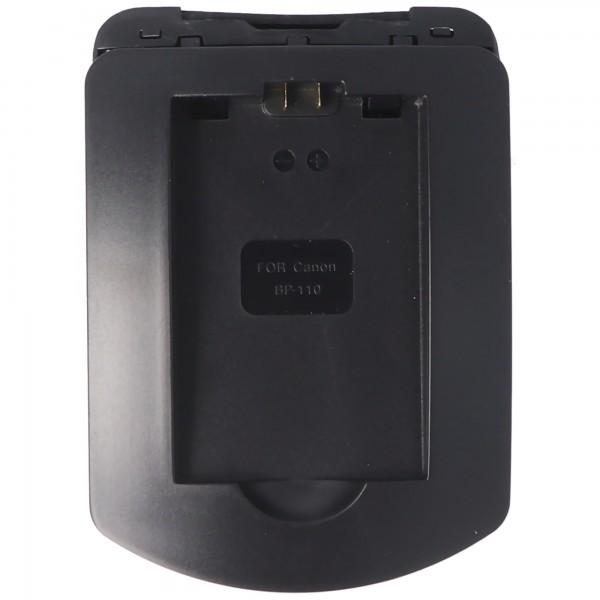 Laadstation geschikt voor de Canon BP-110, HF R206, HF R26, HF R28, CG-110 batterij