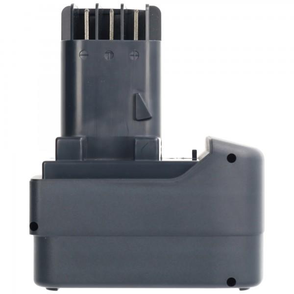 AccuCell-batterij geschikt voor Metabo BS 12, BST 12, SB12, 12V NiMH 3.0Ah