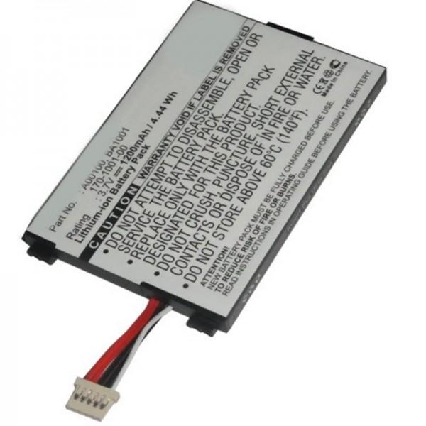 Batterij geschikt voor Amazon Kindle D00111, batterij 170-1001-00, BA1001-batterij