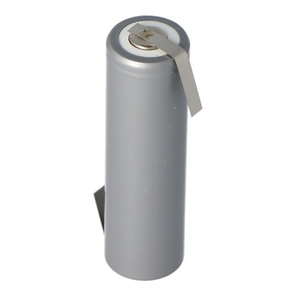 AccuCell HHR2200 Mignon AA-cel met Z-vormige soldeertag 2200mAh