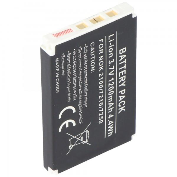 AccuCell-batterij geschikt voor Nokia 6610, BLD-3, 1000mAh