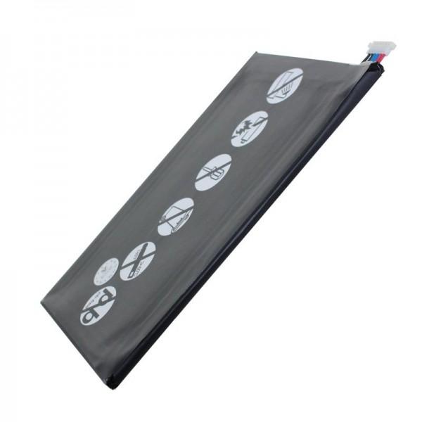 Accu geschikt voor de Samsung Galaxy Tab 4, Galaxy Tab 4 8.0 LTE, Galaxy Tab4 8.0 Wi-Fi, Millet, SM-T330, SM-T335, SM-T335F3