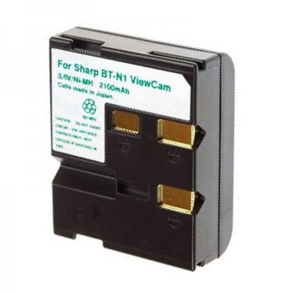 AccuCell-batterij geschikt voor Sharp BT-N1 ViewCam-serie