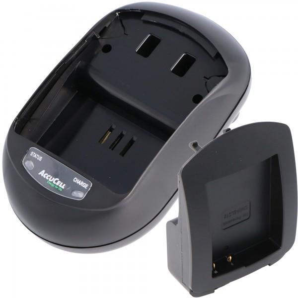 AccuCell snellader geschikt voor Panasonic DMW-BLC12, -GH2