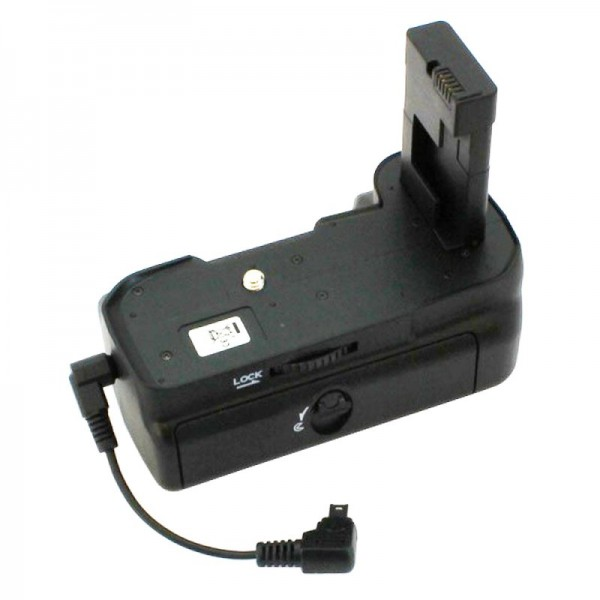 Batterijgrip geschikt voor de Nikon D3100, D3200, gebruik met 2 batterijen type EN-EL14