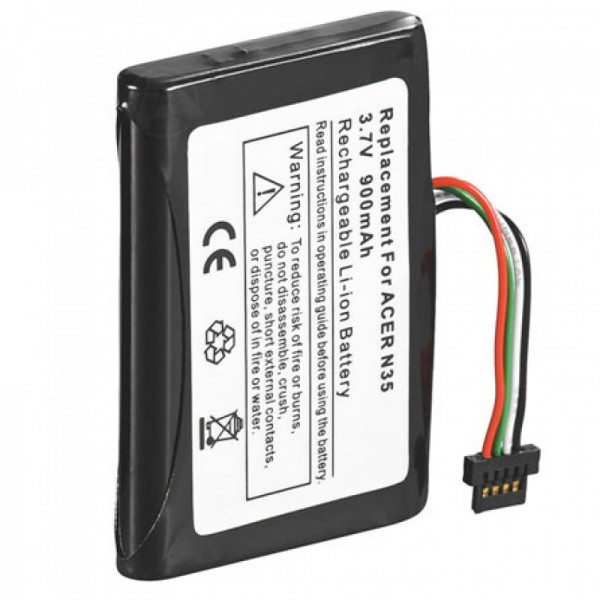 AccuCell-batterij geschikt voor de Yakumo Alpha GPS-batterij