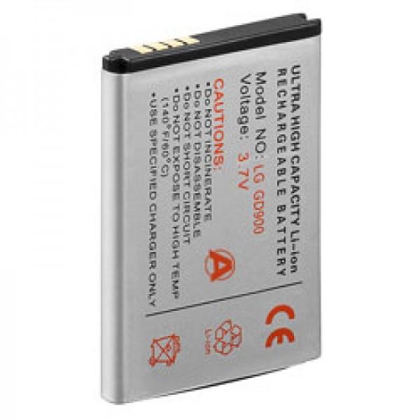 AccuCell-batterij geschikt voor LG BL40 newchocolate, GD900, SBPL0099