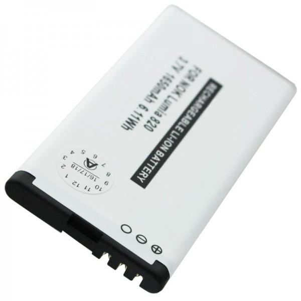 BP-4W replica batterij geschikt voor Nokia Lumia 810, 822 batterij