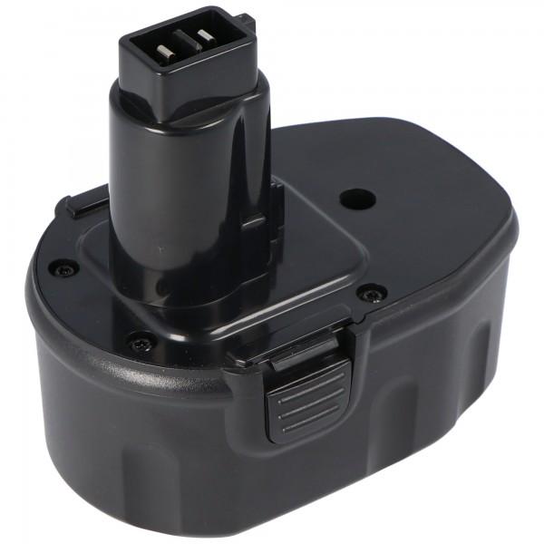 Batterij geschikt voor Dewalt DW9092, 9091, 9038, 14.4 V NiMH 1.5Ah