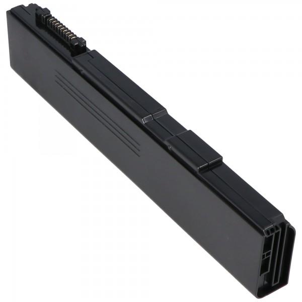 Batterij geschikt voor batterij TOSHIBA PA3788U-1BRS, PABAS221, PABAS223, 10.8 volt 4400mAh