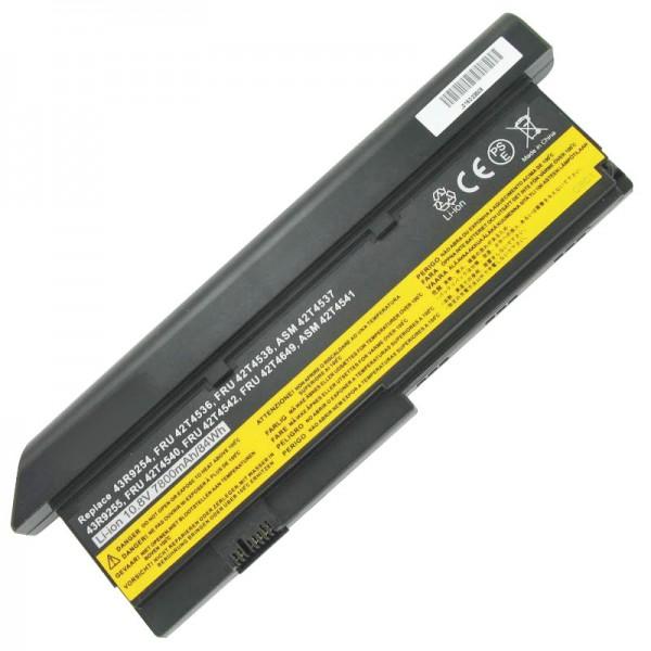 AccuCell-batterij geschikt voor IBM Thinkpad X200 7800mAh