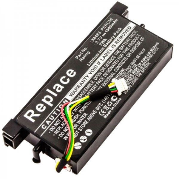 DELL POWEREDGE PERC5E batterijback-up als vervangende batterij van AccuCell