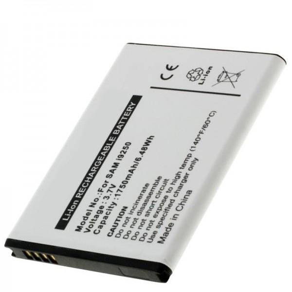 Accu geschikt voor de Samsung Nexus Prime, GT-I9250, Galaxy Nexus, 1750mAh
