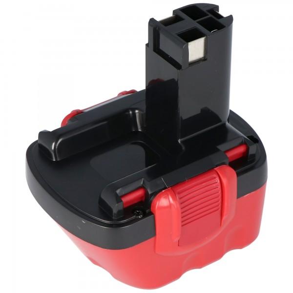 Accu geschikt voor Bosch GSR 12 VE-2, GSB 12 VE-2 NiMH batterij 3.0Ah
