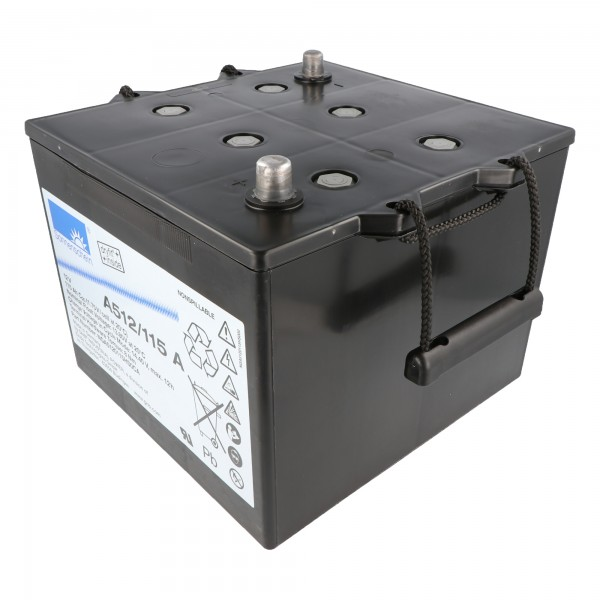Sonnenschein Dryfit A512 / 115A A-Terminal loodbatterij