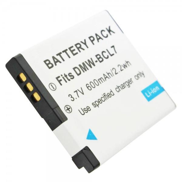 Accu van DMW-BCL7E-kwaliteit van AccuCell geschikt voor Panasonic