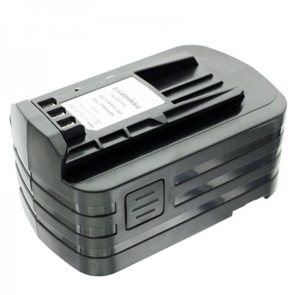 Accu-imitatie geschikt voor Festo BPC18-batterij 498343, 499849 met 4000 mAh