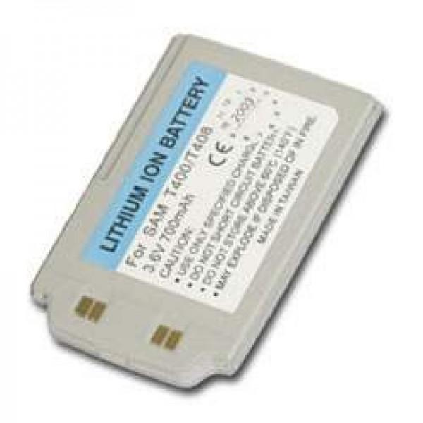 AccuCell-batterij geschikt voor Samsung SGH-T400, SGH-T408, 700mAh