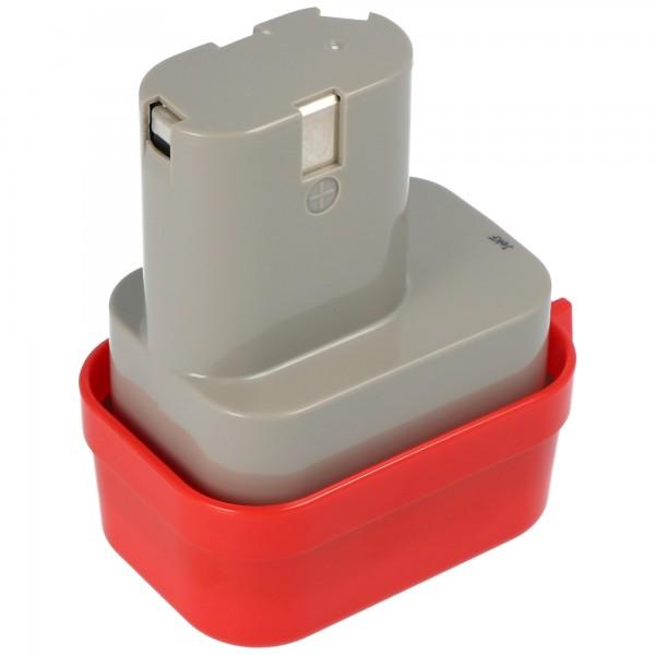 Batterij geschikt voor Makita 9100 batterij, 9101, 9102, NiMH-batterij 2.0Ah