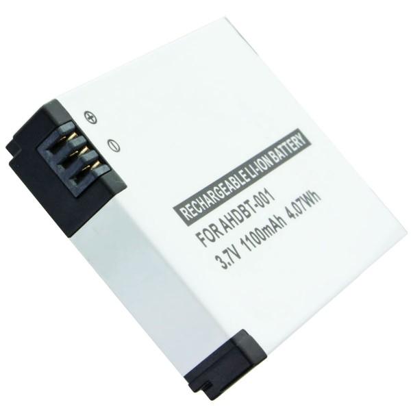 AccuCell-batterij geschikt voor GoPro Hero, GoPro HD Hero, GoPro HD Hero