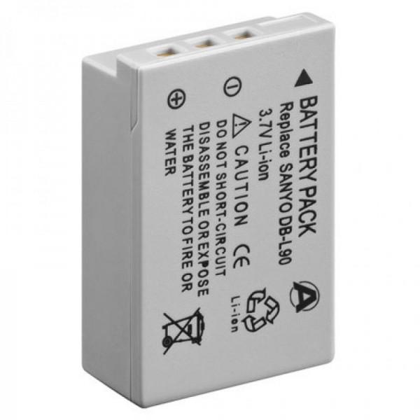 Batterij geschikt voor SANYO DB-L90 batterij, VPC-SH1-serie