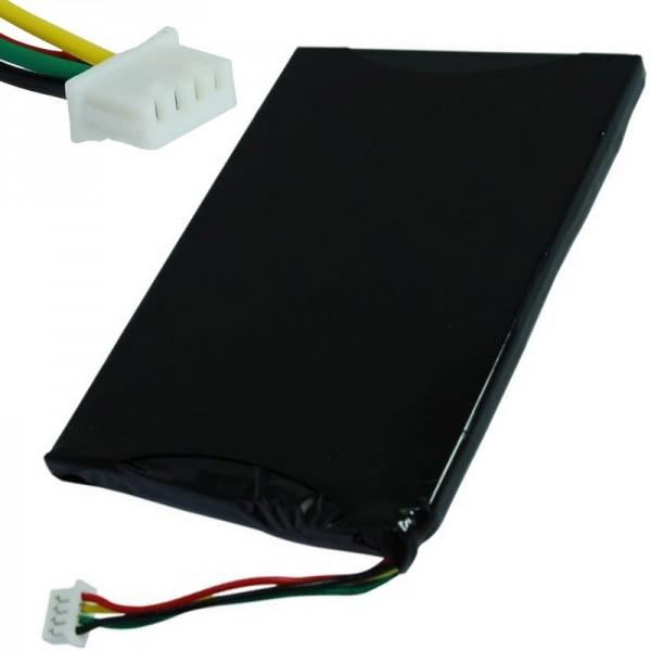 AccuCell-batterij geschikt voor Navigon 7210, 7310, BI-GC411-1K6KAY