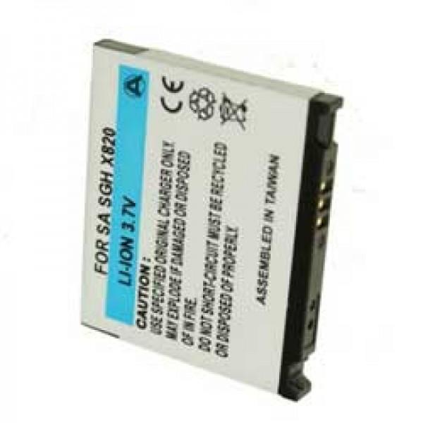 Accu geschikt voor Samsung SGH-D830, SGH-E840, SGH-U600, SGH-X820